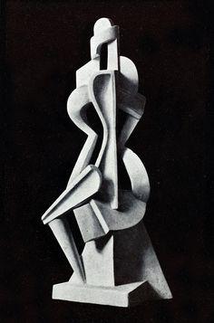 Cahiers individualistes de philosophie et d'art, October 1920 , Art by Alexander Archipenko