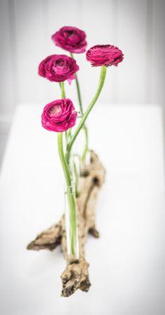 DIY Treibholz-Blumenvase   Driftwood Vase  by http://titatoni.blogspot.de/