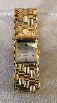 AUDEMARS PIGUET Gubelin Ladies Watch, 18K Gold, Estate Piece, EUC