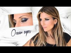 Ocean eyes | Roula Stamatopoulou - YouTube Mirrored Sunglasses, Make Up, Youtube, Cosmetics, Eyes, Max Factor, Female Celebrities, Bobbi Brown, Beauty