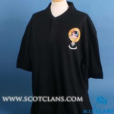 MacDougall Clan Crest Polo Shirt