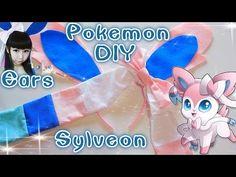 Cosplay DIY: Pokemon Sylveon Ears Headband & Head Bow (Easy) - YouTube