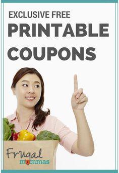 Printable Coupons for Big Family Savings