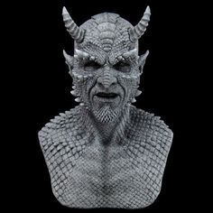 Belial the Demon Gargoyle Silicone Mask at Grimm Brothers Halloween