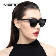 48639e1790  FASHION  NEW MERRY S DESIGN Men Women Classic Polarized Sunglasses Fashion Sunglasses  100%
