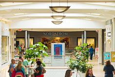 Nordstrom department store inside Overland Park's Oak Park Mall. #shopping #mall
