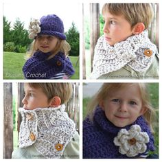 Crochet PATTERN Toddler Kids Adult nackwarmer by daisiescrochet, $5.00