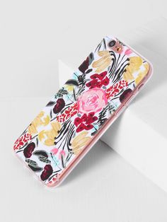 55f9e755e6 SheIn offers Watercolor Print iPhone Case & more to fit your fashionable  needs.