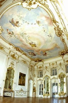 "Eszterháza in Fertőd, Hungary, 1720–1766, sometimes called the ""Hungarian Versailles"""