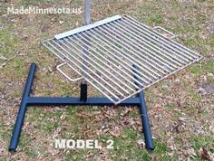 "22"" x 22"" portable swing away grill and stand. Same unit used on all my fire pits however includes this portable base. Grill swings 360 Degrees and made from type 304 food grade stainless steel . Made from 3/8"" solid round stock.Tig welded. Life time warranty.Made to last!  www.HigleyFirePits.comNone"
