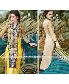 Pakistani Designer Chairzma Lawn Collection 2015 - Online Shopping