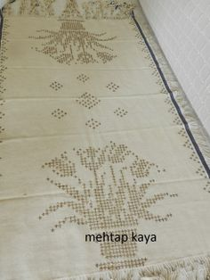 Mehtap Kaya - Tel Kırma / Bartın Work - embroidery with silver threads