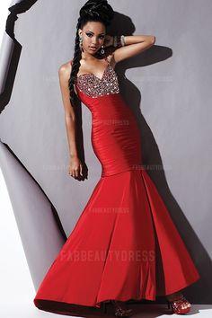 Trumpet/Mermaid Straps Floor-length Detachable Jersey Prom Dress