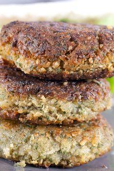 Chickpea Falafel Burgers Recipe