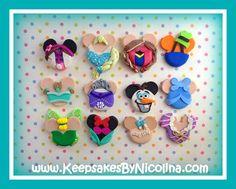 Personalized Disney Character Mickey Ears by KeepsakesByNicolina