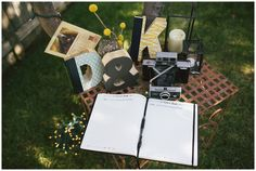 DIY guest book. Photo by www.rhemafaithphotography.com