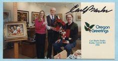 CARL-BARKS-signed-color-photo-Donald-Duck-Nephews-Scrooge-McDuck-Walt-Disney
