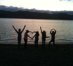 Throwback to the lake with friends!