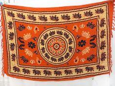 swimwear scarf orange elephants sarongs $4.95 - http://www.wholesalesarong.com/blog/swimwear-scarf-orange-elephants-sarongs-4-95/