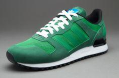 f20e27de adidas Originals ZX700 - Mens Select Footwear - Real Green-Fairway-Forest  Sportswear Brand