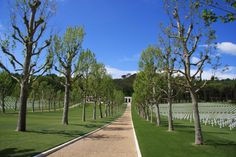 Florence American Cemetery and Memorial Love And Gelato, American Cemetery, Bookmarks, Florence, Sidewalk, Traveling, Italy, Memories, Places