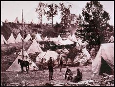 Civil War Field Hospital, City Point, VA, near Petersburg
