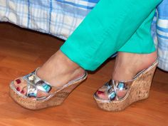 Platform Wedge Sandals, Wedge Heels, High Heels, Feet Soles, Women's Feet, Sexy Heels, Footwear, Wedges, Shoes