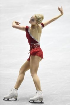 Gracie Gold of the USA competes in the Ladies' Short Program during the day one of the ISU World Team Trophy at Yoyogi National Gymnasium on April 16, 2015 in Tokyo, Japan. (April 15, 2015 - Source: Atsushi Tomura/Getty Images AsiaPac)