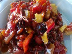 Tomato-Raisin-Apple Chutney