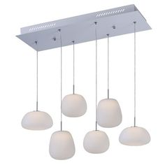 Puffs Rectangular Pendant | Et2 at Lightology