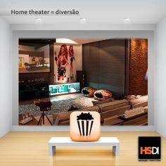 Se você gostaria de levar a atmosfera do cinema para a sua casa, o recomendado é ter um ótimo home theater. Com a ajuda de nossos vendedores, você pode encontrar as melhores opções para combinar com a sua casa. Temos, inclusive, arquitetos em nossa equipe prontos para ajudar na disposição das caixas e dos equipamentos, organizando um ambiente bonito, aconchegante e divertido.