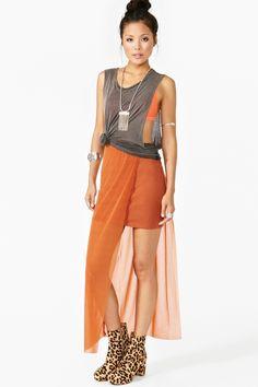 Nasty Gal / Chizu Skirt - Copper
