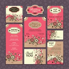 Wedding Invitation Set  https://www.etsy.com/listing/162407324/wedding-invitation-set?ref=shop_home_active