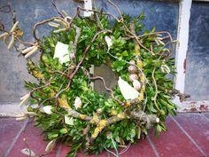 Türkränze - ~ Natürlicher Türkranz ~ Zauberhafte Landpartie~ - ein Designerstück von cottagegarden24 bei DaWanda