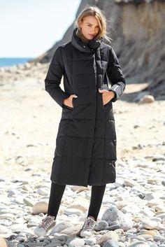 Черная бархатная дутая куртка - Покупайте прямо сейчас на сайте ...