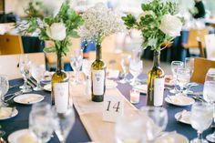 #table-numbers  Photography: Jacqui Cole - jacquicole.com  Read More: http://www.stylemepretty.com/2014/10/24/romantic-morton-arboretum-wedding/