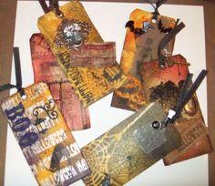 JJ Paper Creations: Tim Holtz Halloween Tags!!