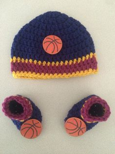 A personal favorite from my Etsy shop https://www.etsy.com/listing/465947680/cleveland-cavaliers-cavs-baby-beanie-and