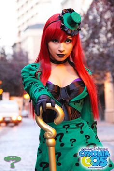 Probably going to be the Riddler next halloween