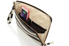 Kate Spade criou uma coleção de Bolsa que carrega o iPhone, em parceria com a Everpurse.