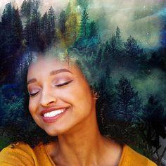 Artista transforma cabelos afros em obras de arte