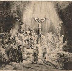 Het is Goede Vrijdag! De drie kruisen, van Rembrandt van Rijn, is te zien in het @rijksmuseum pic.twitter.com/7Xke2rQFBo