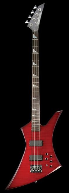 Jackson Kelly Bass Red