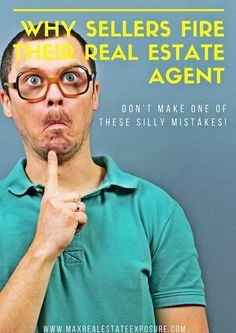 Do you know the most commons reasons why a seller would fire their real estate agent? Find out why in my latest article at Maximum Real Estate Exposure. Real Estate Business, Real Estate Investing, Real Estate Marketing, Real Estate Articles, Real Estate Information, Home Selling Tips, Selling Your House, Real Agent, Sell Your House Fast