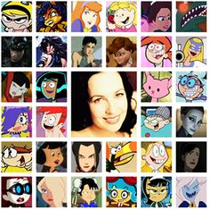 Grey Delisle, aka my hero Old Cartoons, Classic Cartoons, Voice Acting, The Voice, Grey Delisle, Childhood Ruined, Childhood Characters, Mind Blowing Facts, Fandom Crossover