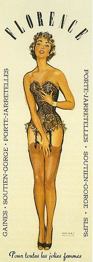 1950s Florence Lingerie ad