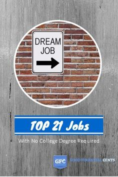 21 Highest Paying Jobs with NO College Degree Required
