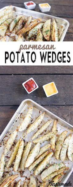 Putting a delicious, herby potato wedge between people will only bring them closer together. Save the recipe on our app! http://link.tastemade.com/HE7m/H1wHe4m2mA