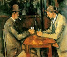 Els jugadors de cartes_Paul Cézzane