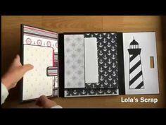 Álbum regalo Día del Padre. Father's Day gift. DIY Scrapbook - YouTube